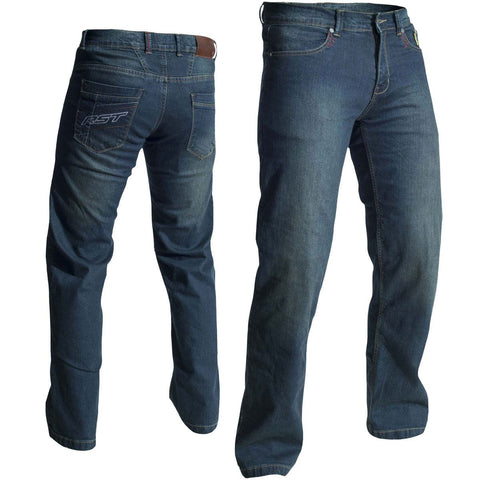 RST Aramid Vintage II Jeans Light Wash Blue