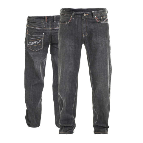RST Aramid Wax II Textile Motorcycle Jeans Black