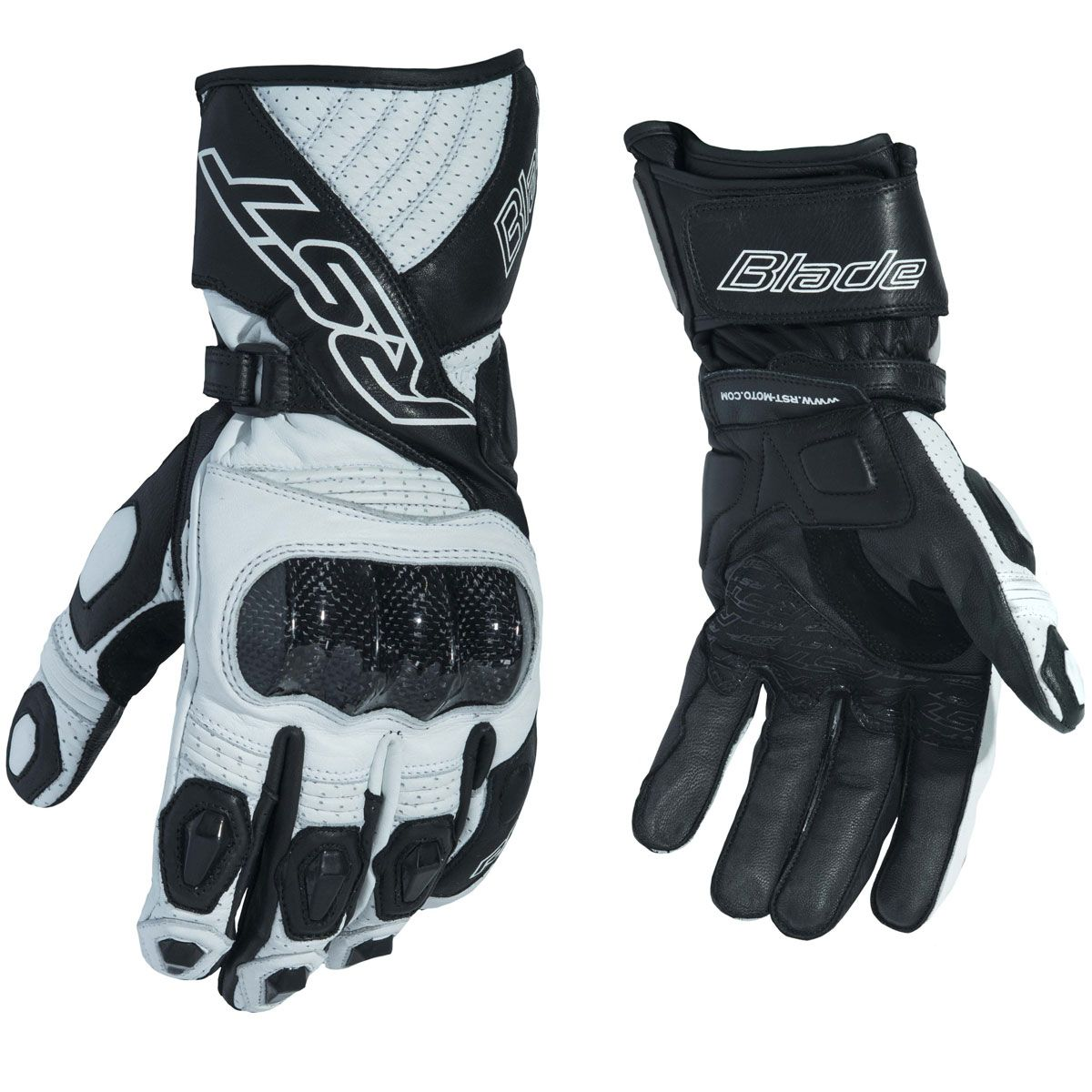 RST Blade II CE Gloves White