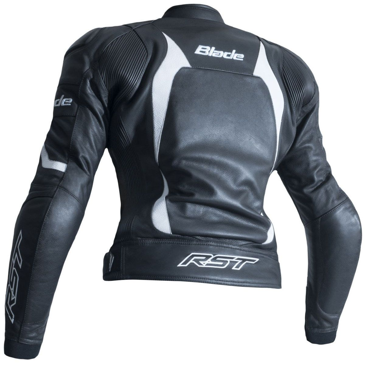 RST Blade II CE Ladies Leather Jacket White