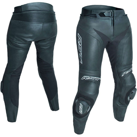 RST Blade II Ladies Leather Trousers Black