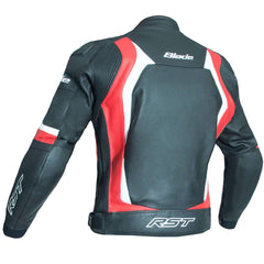 RST Blade II CE Leather Jacket Red