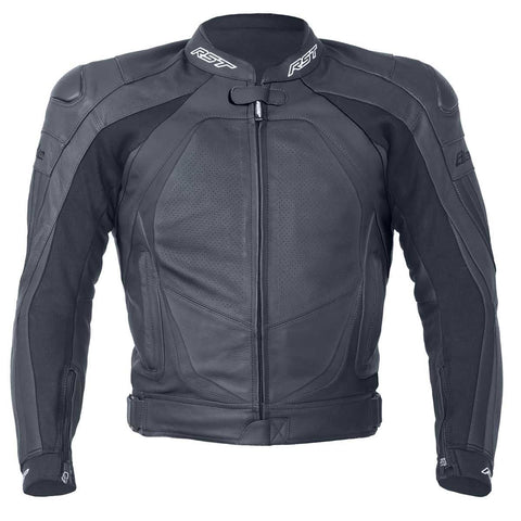 RST Blade II Ladies Leather Motorcycle Jacket Black