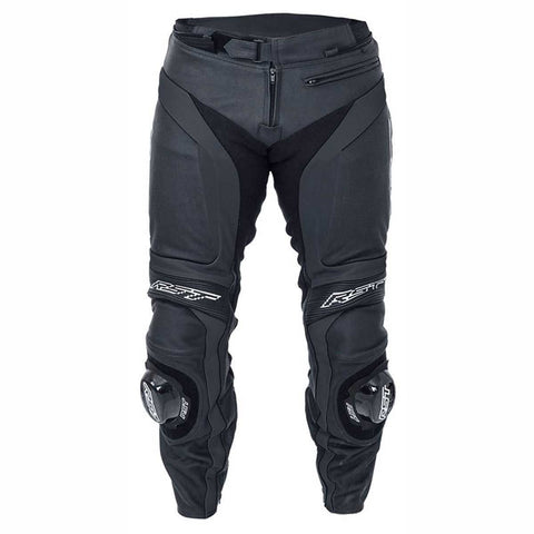 RST Blade II Leather Motorcycle Trousers Black