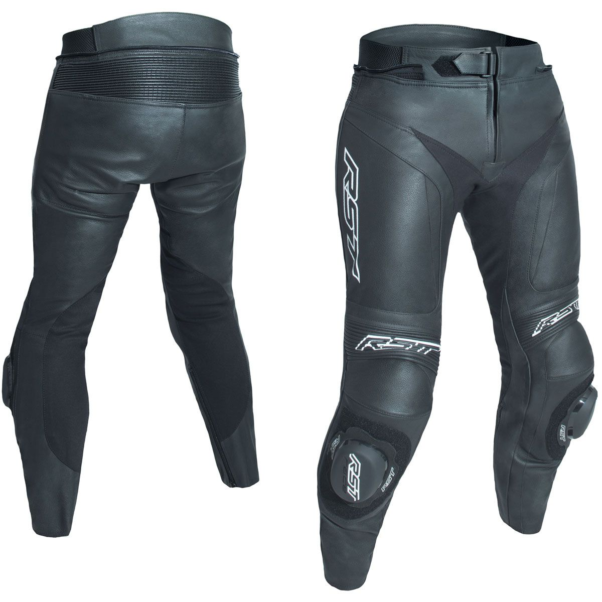 RST Blade II CE Leather Trousers  Black (Short Leg)