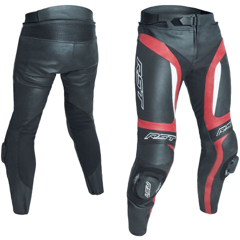 RST Blade II CE Leather Trousers Red