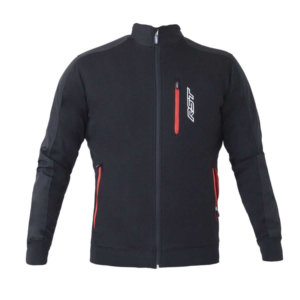 RST Casual Full Zip Technical Jacket Black