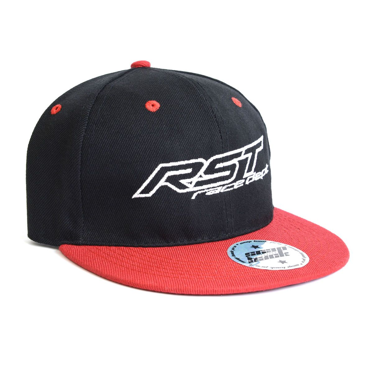 RST Casual Track Snapback Cap Black / Red