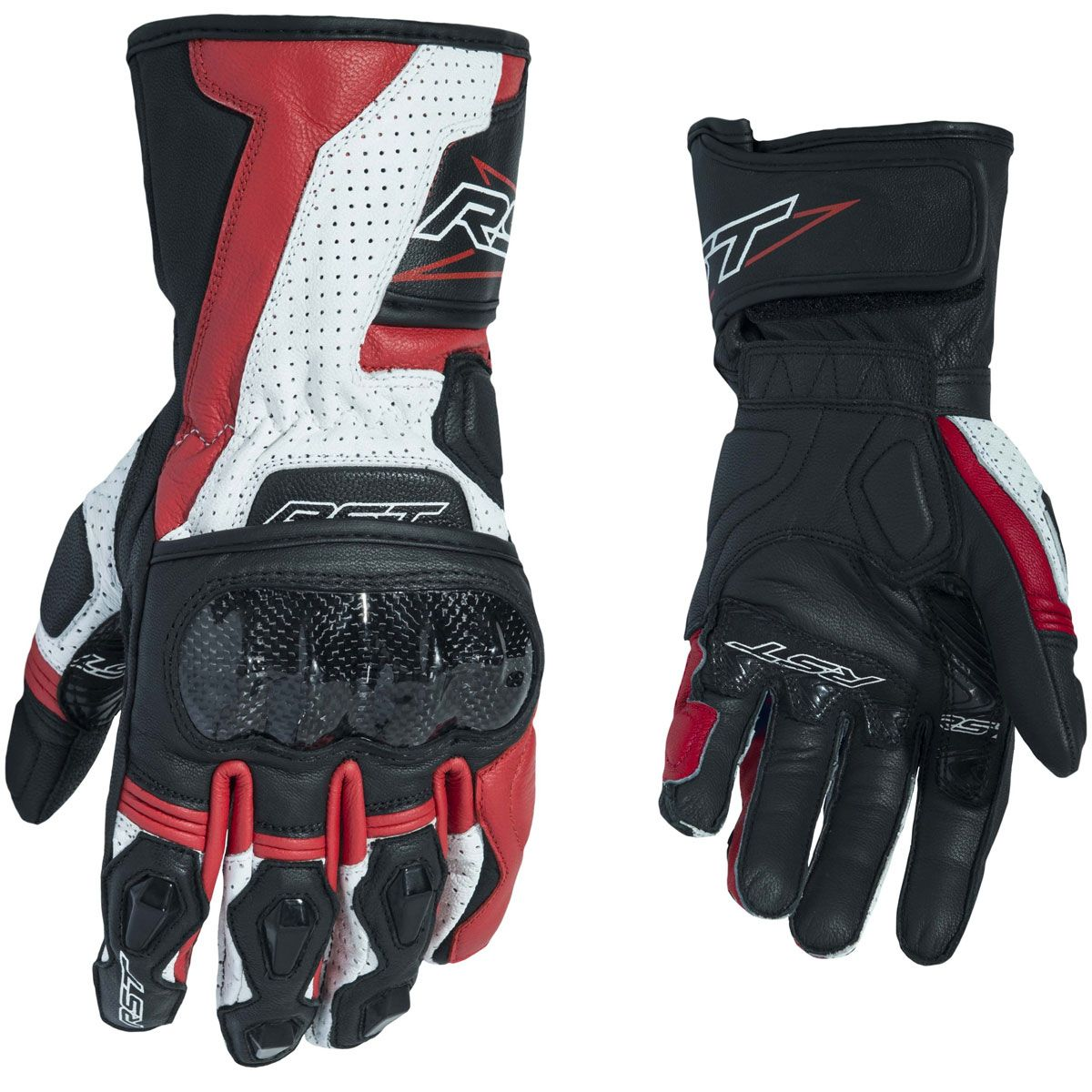 RST Delta III CE Gloves Red