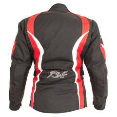 RST Diva III Ladies Textile Motorcycle Jacket Red