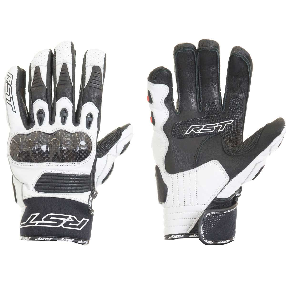 RST Freestyle CE Gloves White