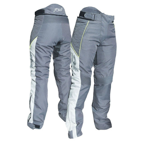 RST Gemma II CE Ladies Textile Trousers Gunmetal / Fluo Yellow