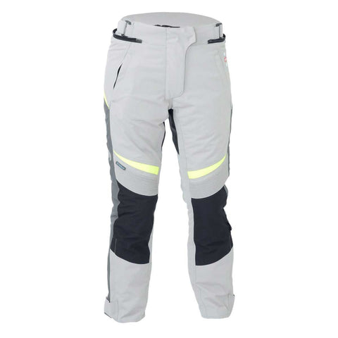 RST Gemma Ladies Textile Trouser Silver / Fluo Yellow