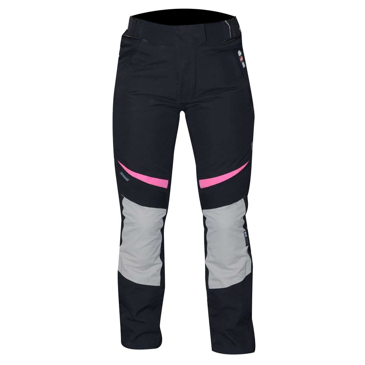 RST Gemma Ladies Textile Trouser Black / Pink