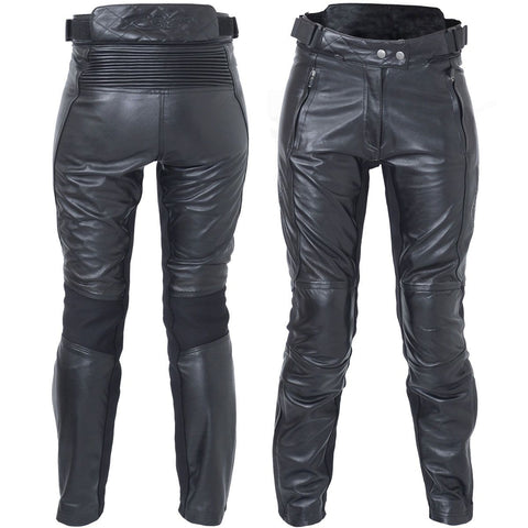 RST Kate CE Ladies Leather Trousers Black