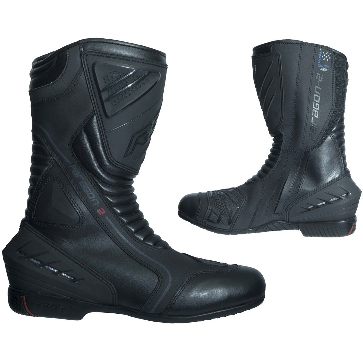 RST Paragon II Waterproof Boots Black