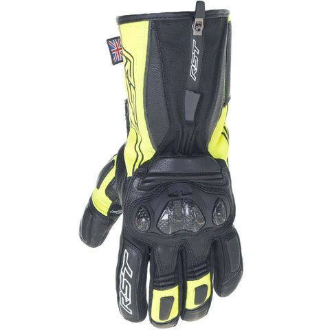 RST Paragon V CE Ladies WP Gloves Fluo Yellow