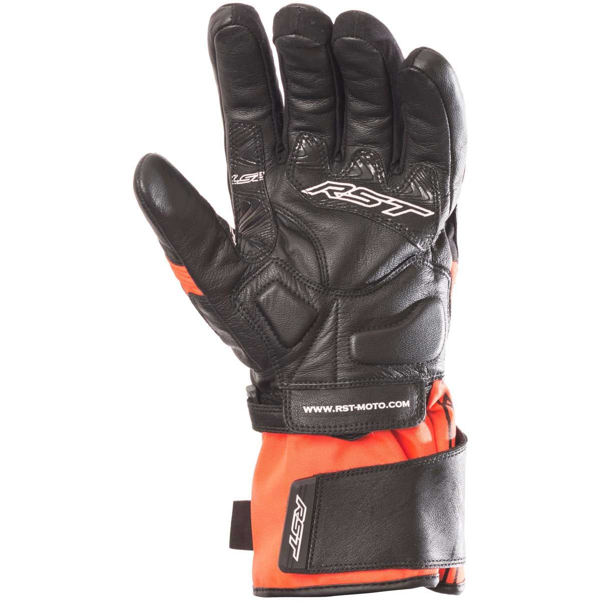 RST Paragon V WP Ladies Gloves Fluo Red