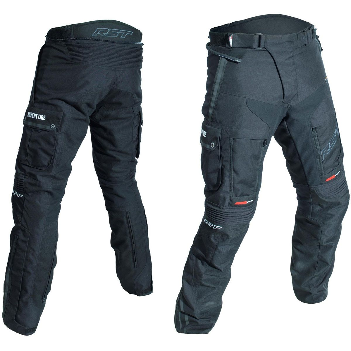 RST Pro Series Adventure III CE Textile Trousers Black