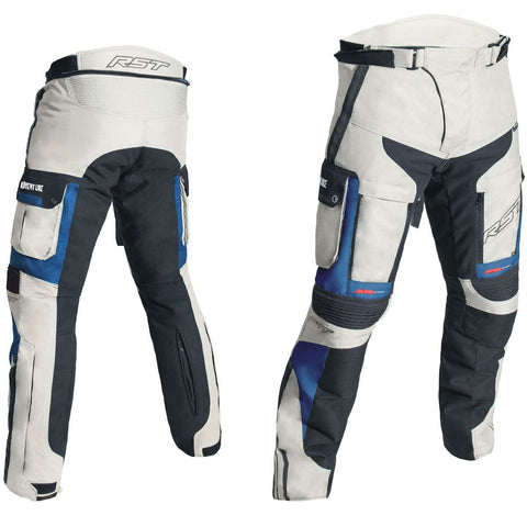 RST Pro Series Adventure III CE Textile Trousers Sand / Blue