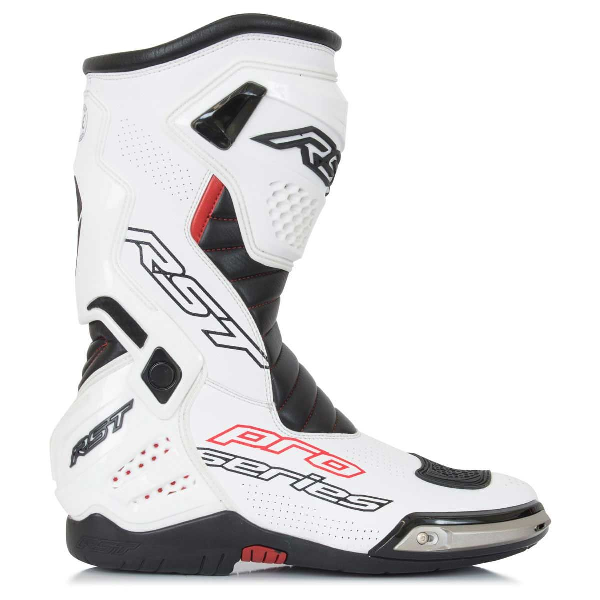 RST Pro Series Race CE Boots White