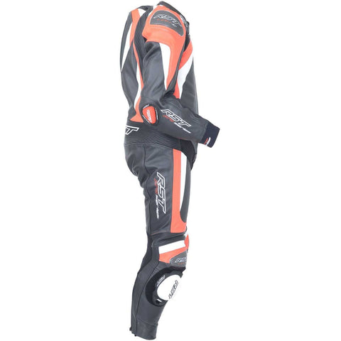 RST Pro Series CPXC II Leather Motorcycle Suit Fluo Red