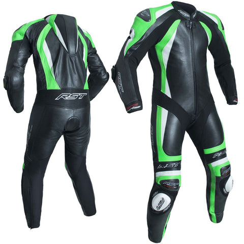 RST Pro Series CPXC II Leather One Piece Suit Neon Green