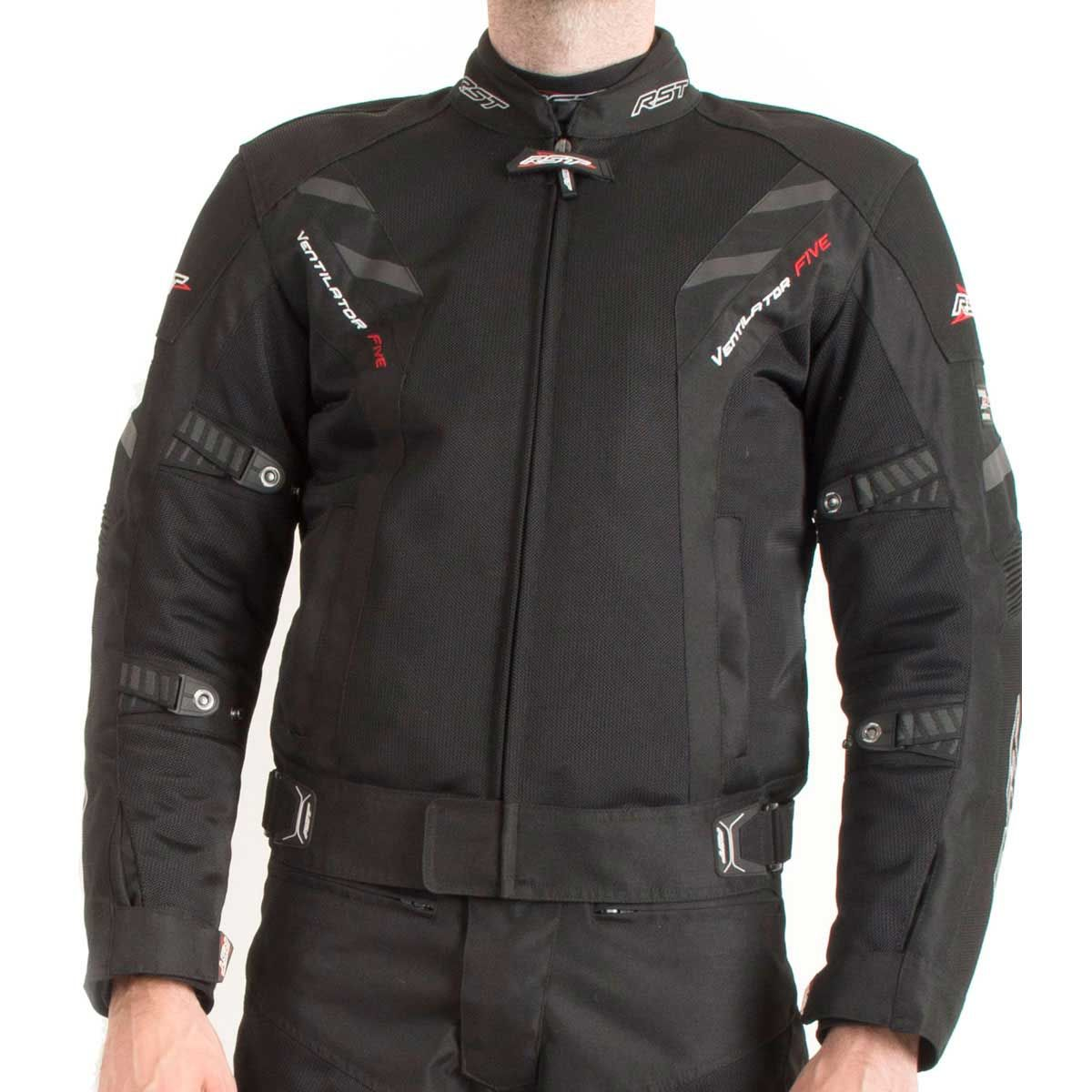 RST Pro Series Ventilator V Textile Motorcycle Jacket Black