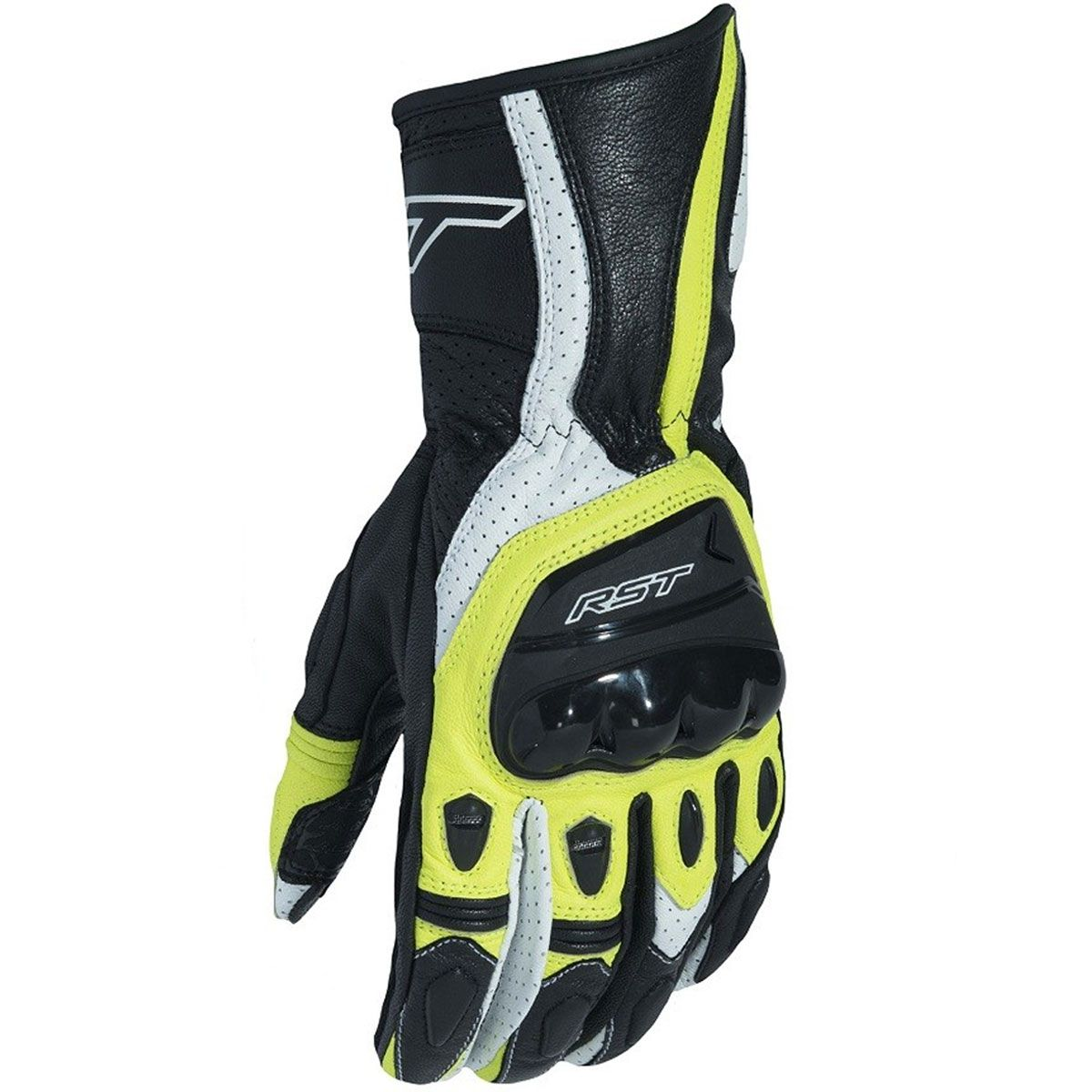 RST R-18 CE Gloves Fluo Yellow