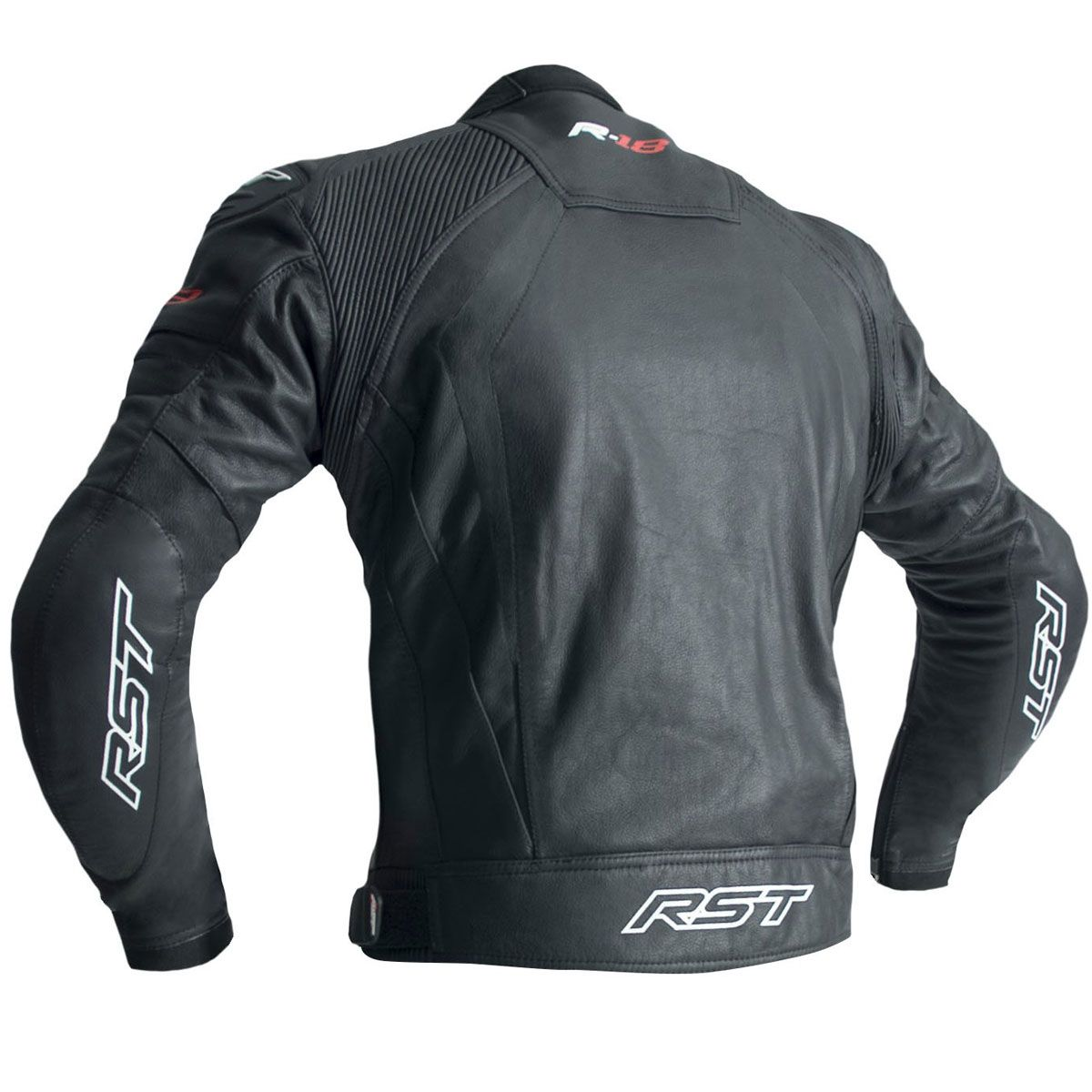 RST R-18 CE Leather Jacket Black