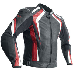 RST R-18 CE Leather Jacket Red