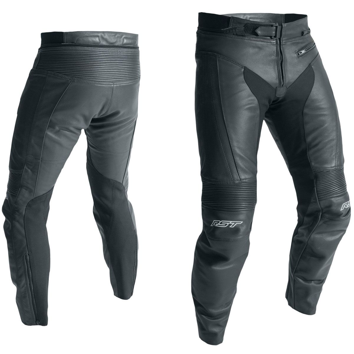 RST R-18 CE Leather Trousers Black