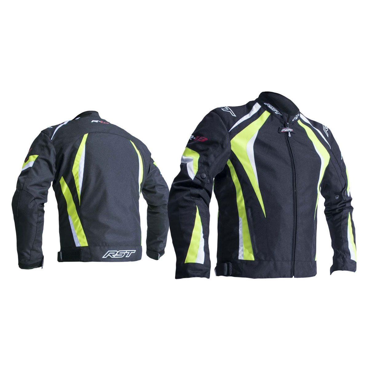 RST R-18 CE Textile Jacket Fluo Yellow