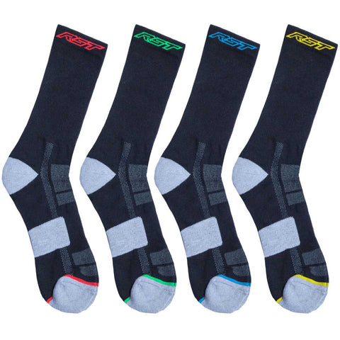 RST Race Dept Socks 4 Pack Multi