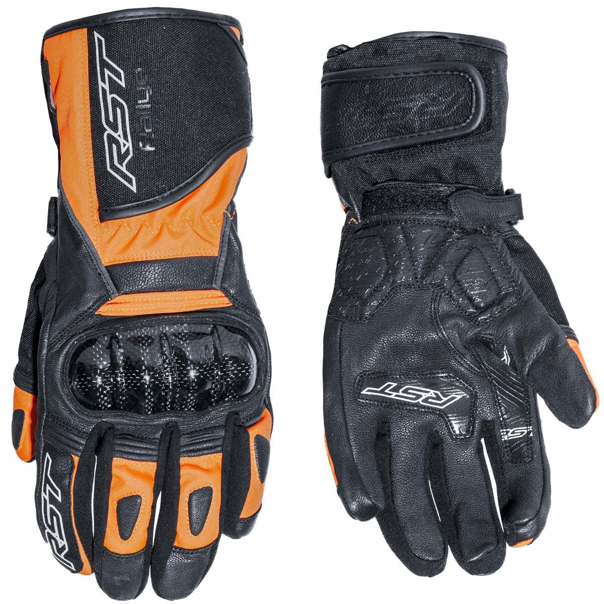 RST Rallye CE WP Gloves Fluo Red