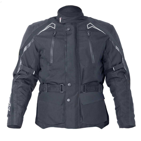 RST Rallye Textile Motorcycle Jacket Black