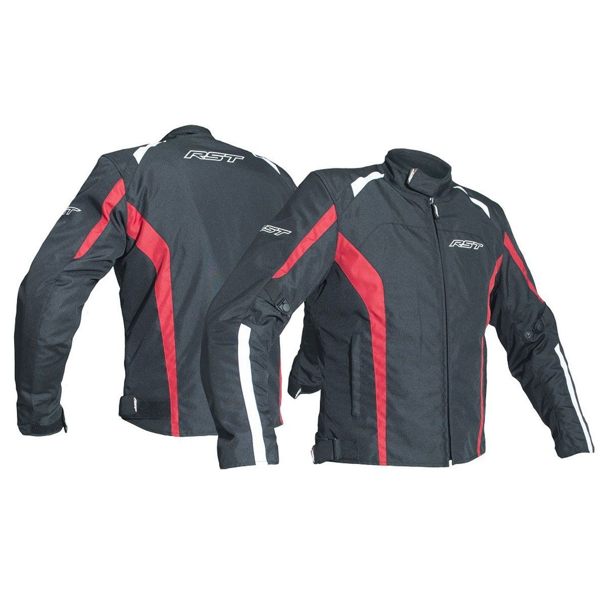 RST Rider CE Textile Jacket Red
