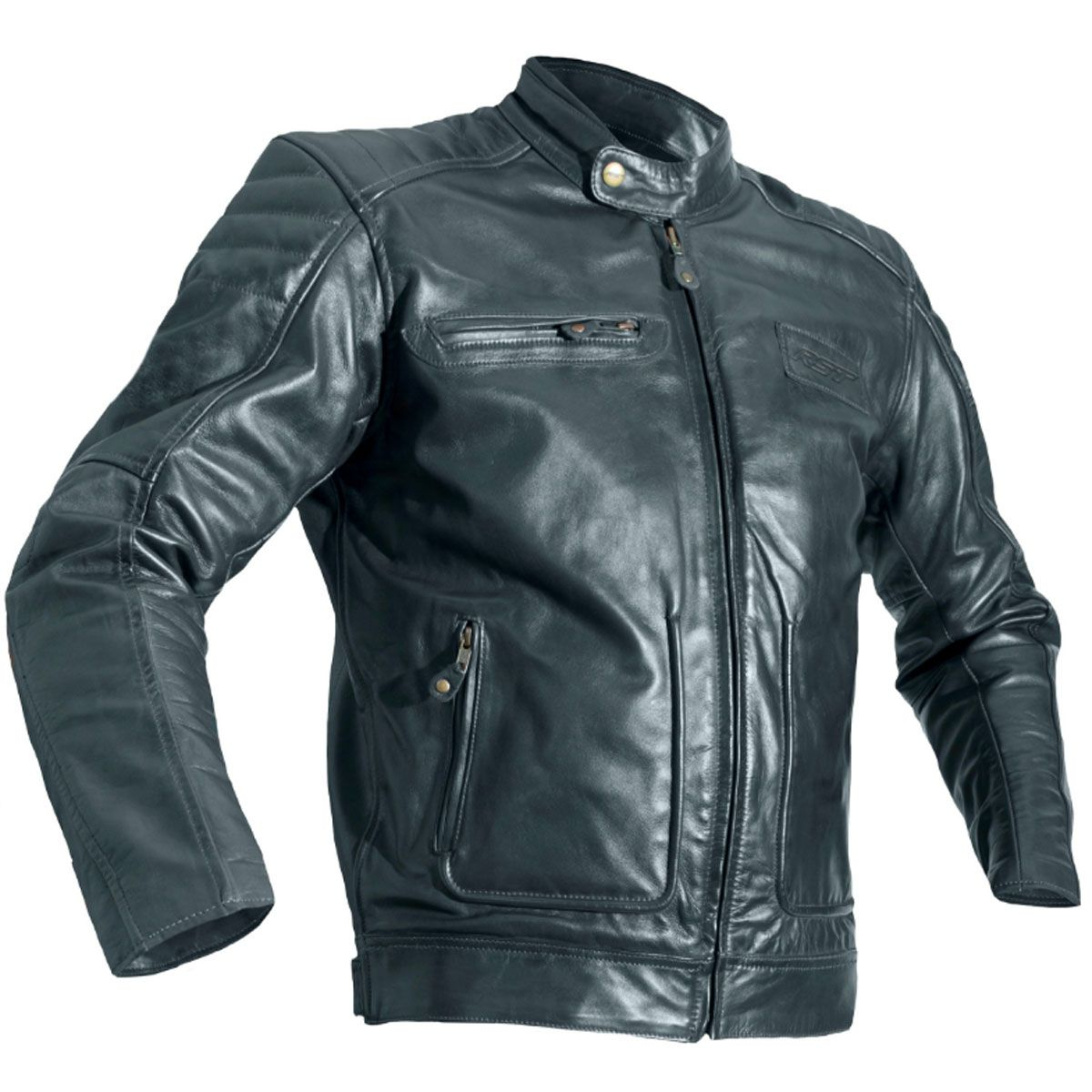 RST Roadster II CE Leather Jacket Vintage Black
