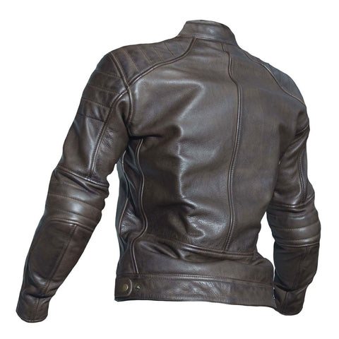 RST Roadster II CE Ladies Leather Jacket Brown