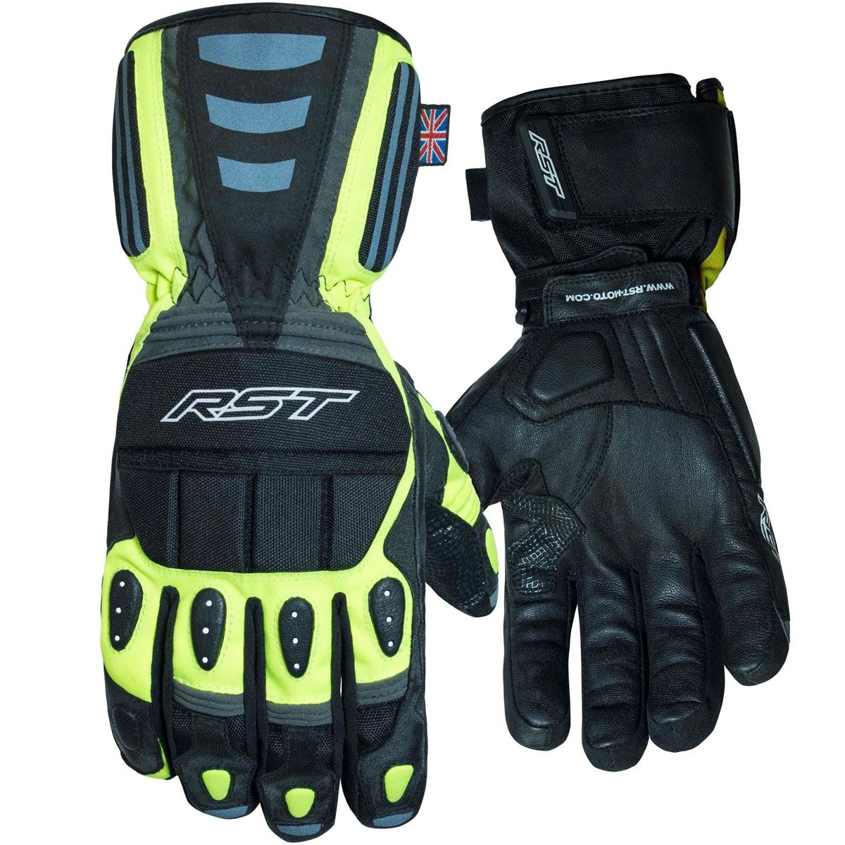 RST Storm CE WP Gloves Fluo Yellow