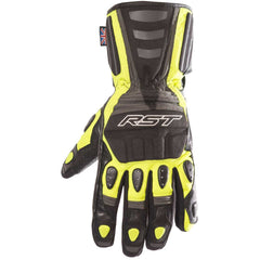 RST Storm WP Motorcycle Gloves Fluo Yellow