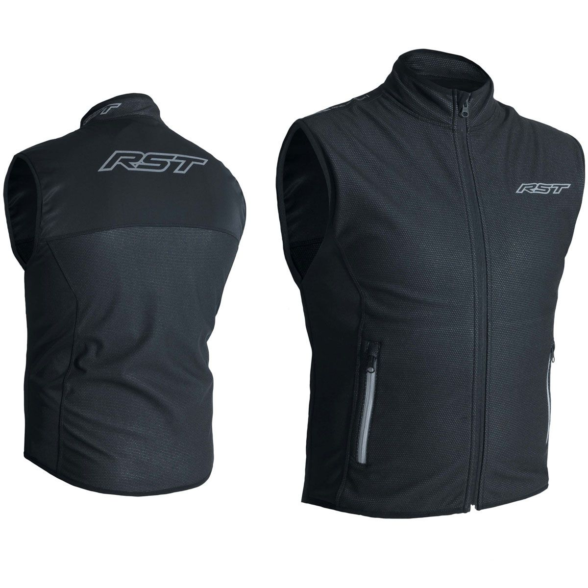 RST Thermal Wind Block Gilet Black