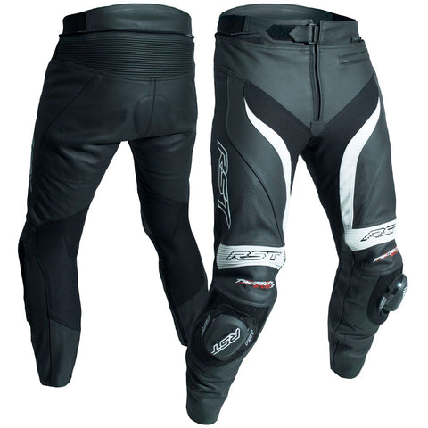 RST Tractech Evo 3 CE Leather Trousers White