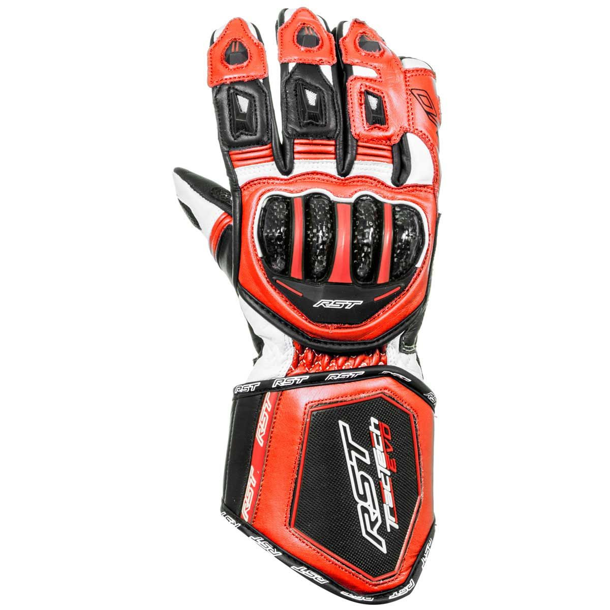 RST Tractech Evo CE Gloves Fluo Red