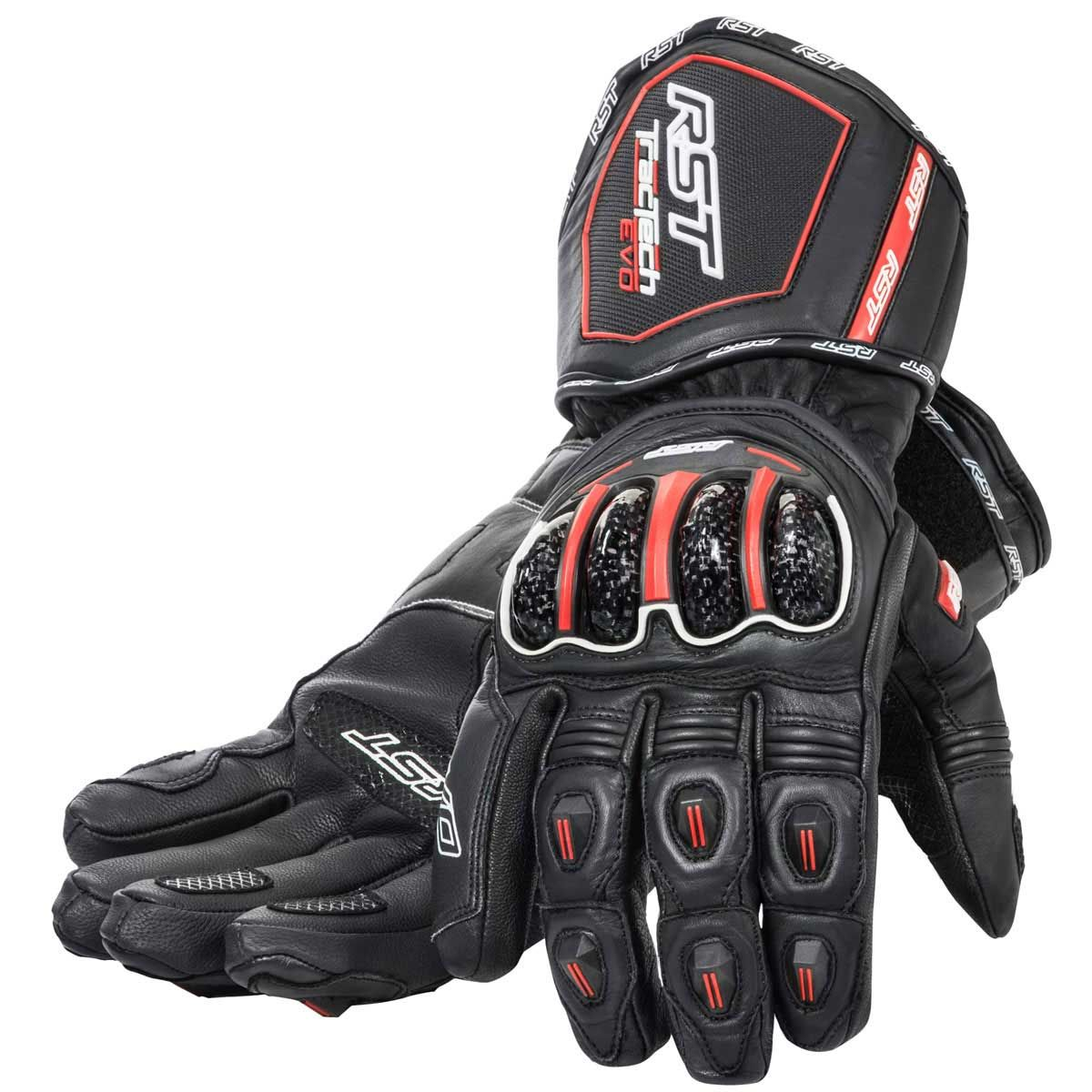 RST Tractech Evo WP Gloves Black