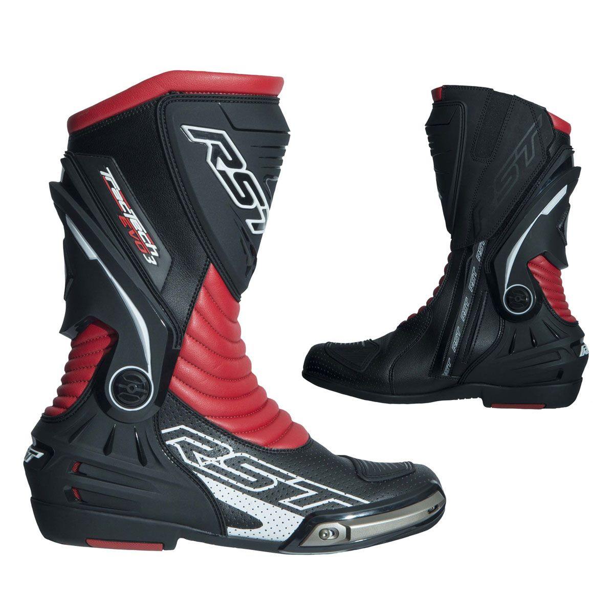 RST Tractech Evo 3 Sport CE Boots Red