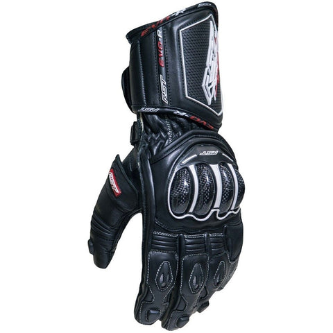 RST Tractech Evo R CE Leather Gloves Black