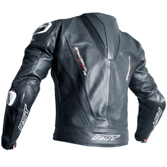 RST Tractech Evo R CE Leather Jacket Black