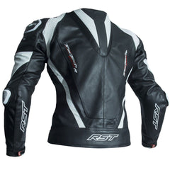 RST Tractech Evo R CE Leather Jacket White