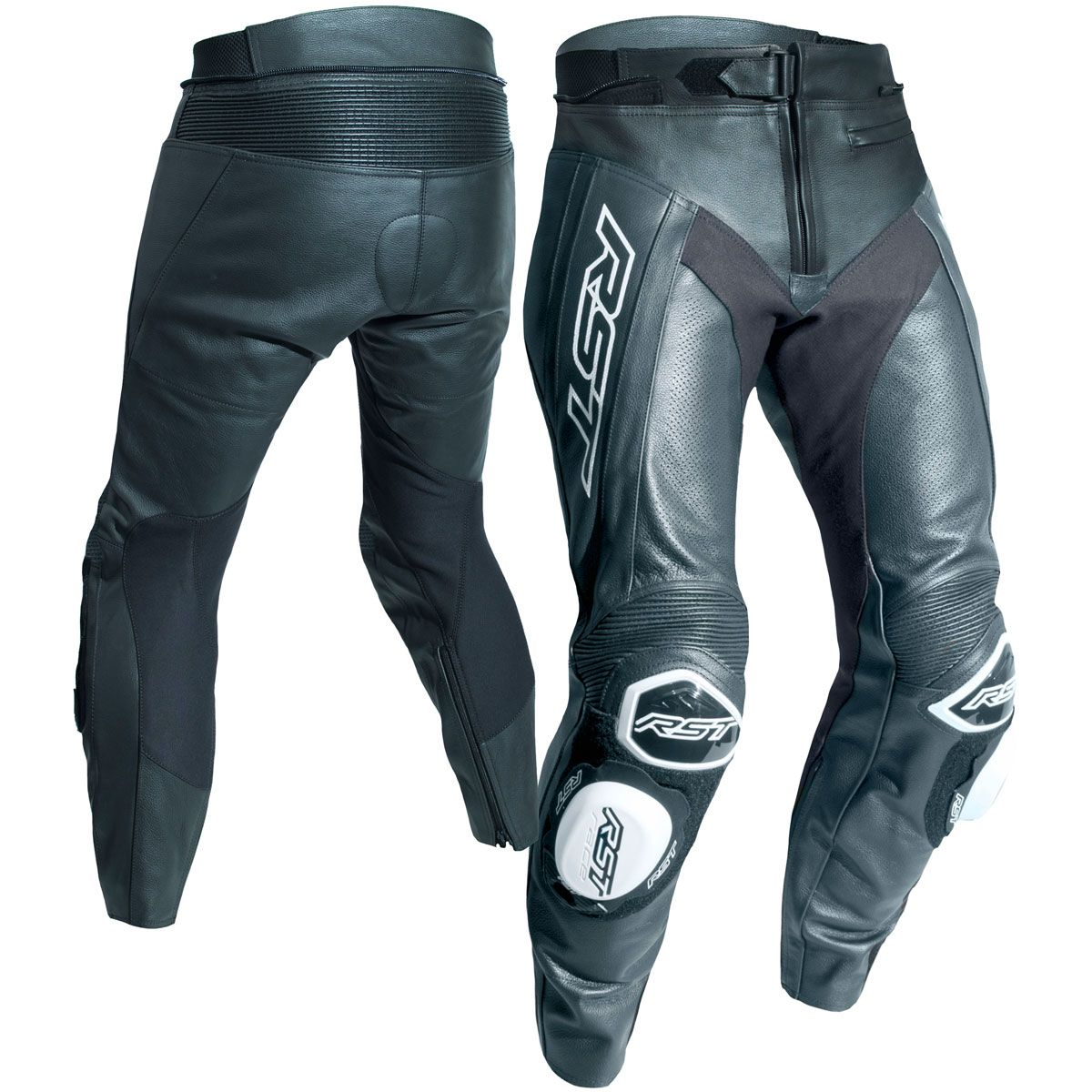 RST Tractech Evo R CE Leather Trousers Black